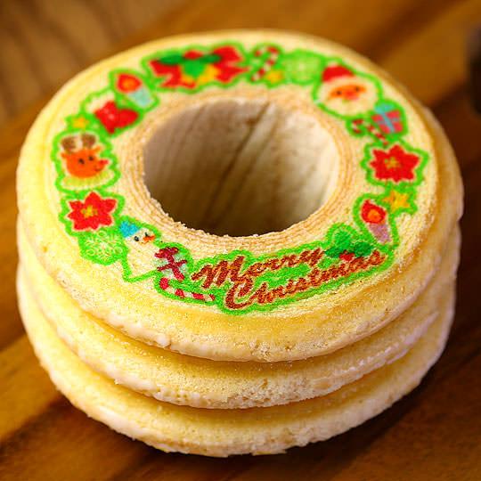 クリスマスバウムクーヘン